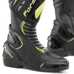 Motorcycle Boot FORMA Freccia Black Yellow ,Motorcycle Racing Boots
