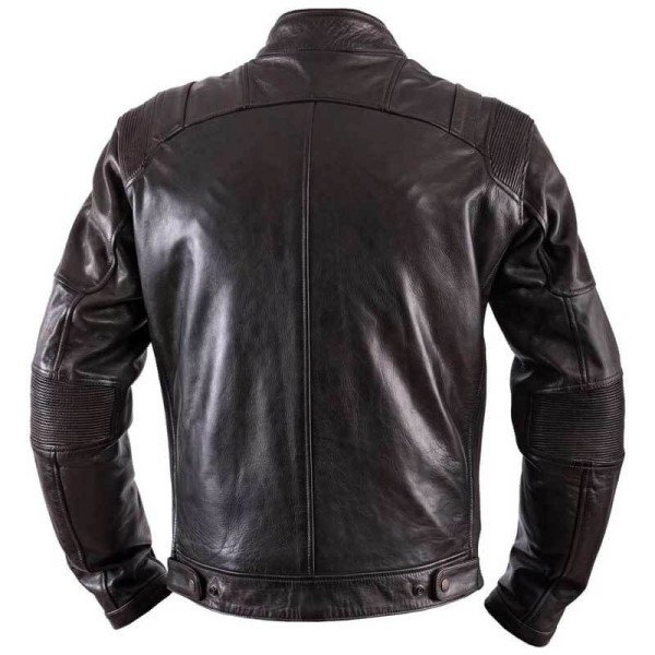 Motorcycle Leather \nJacket HELSTONS Trust Dirty Brown