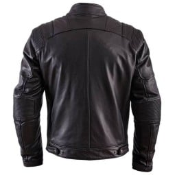 Motorcycle Leather \nJacket HELSTONS Trust Black