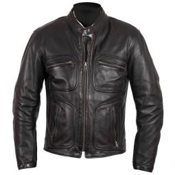 Motorcycle Leather \nJacket HELSTONS Reno Black ,Leather Motorcycle Jackets