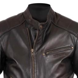Giubbotto Moto Pelle HELSTONS Rusty Marrone, Giubbotti e Giacche Pelle Moto
