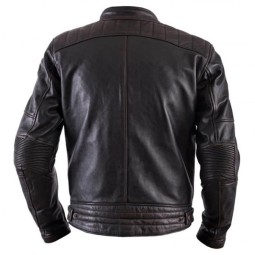 Leather motorcycle jacket Helstons Track Brown ,Leather Motorcycle Jackets