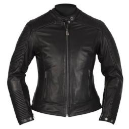 Motorcycle Leather \nJacket Woman HELSTONS Razzia Black ,Leather Motorcycle Jackets