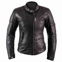 Motorcycle Leather \nJacket Woman HELSTONS KS70 Black ,Leather Motorcycle Jackets