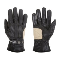 Motorcycle Winter Leader Gloves HELSTONS Brod Black ,Motorcycle Leather Gloves