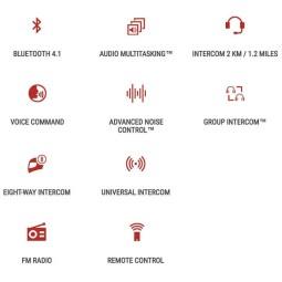Interphone Bluetooth Sena 20S EVO Double
