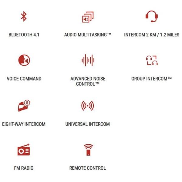 Interphone Bluetooth Sena 20S EVO Doppelt