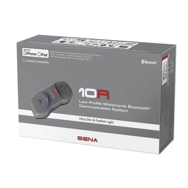 Interphone Bluetooth Sena 10R FM Single