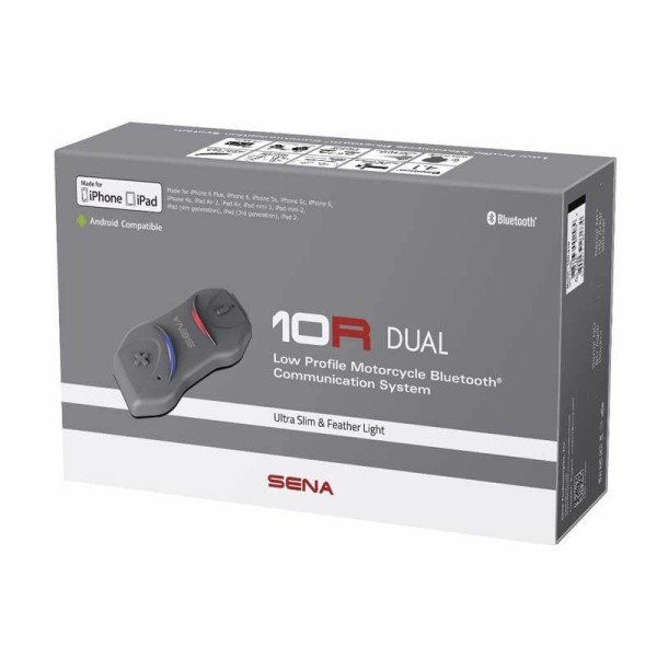 Interfono Bluetooth Sena 10R FM Doble