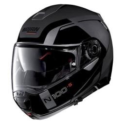 Casco Moto Modular NOLAN N100-5 CONSISTENCY N-COM Lava Grey