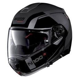 Motorrad Helm Modular NOLAN N100-5 CONSISTENCY N-COM Lava Grey ,Modularhelme