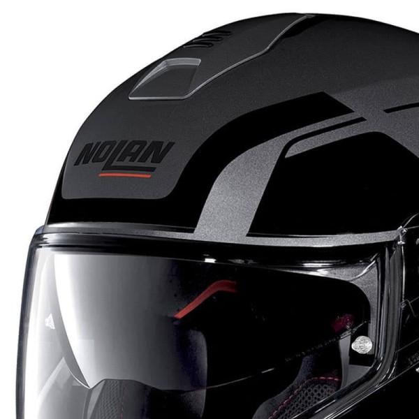 Motorcycle Helmet Modular NOLAN N100-5 CONSISTENCY N-COM Lava Grey