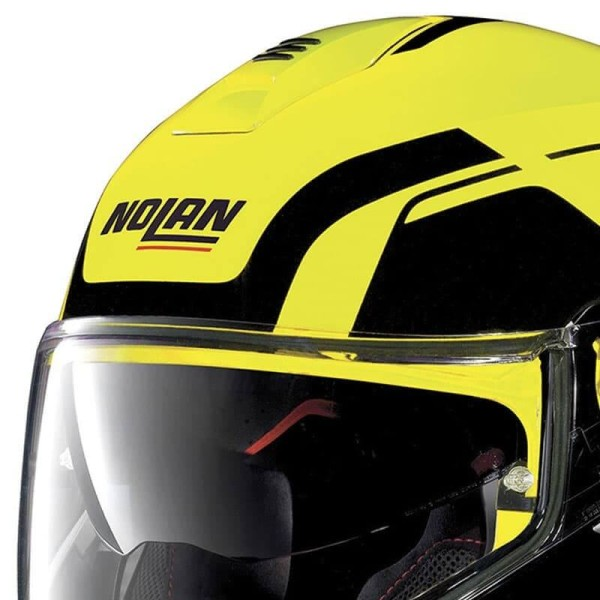 Casco Modular NOLAN N100-5 CONSISTENCY N-COM Led Yellow