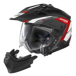 Casco Moto Enduro Nolan N70-2 X Grand Alpes 20, Caschi Motocross / Adventure