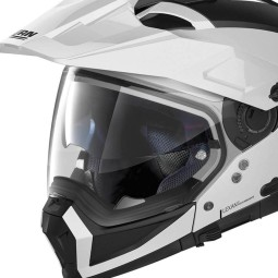 Enduro Helm Nolan N70-2 X Classic 5 Metal White, Endurohelme