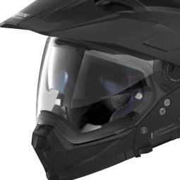 Casco de Enduro Nolan N70-2 X Classic 10 Flat Black, Cascos Enduro