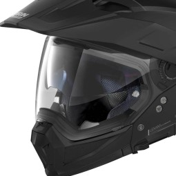 Enduro Helm Nolan N70-2 X Classic 10 Flat Black, Endurohelme
