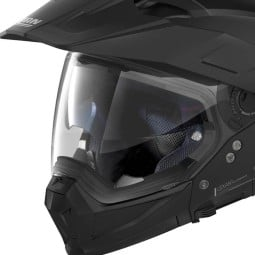 Enduro Helmet Nolan N70-2 X Classic 10 Flat Black ,Motocross / Adventure Helmets