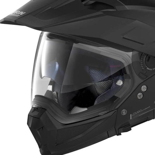 Casque Enduro Nolan N70-2 X Classic 10 Flat Black