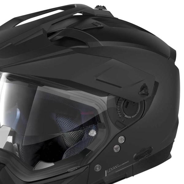 Enduro Helm Nolan N70-2 X Classic 10 Flat Black