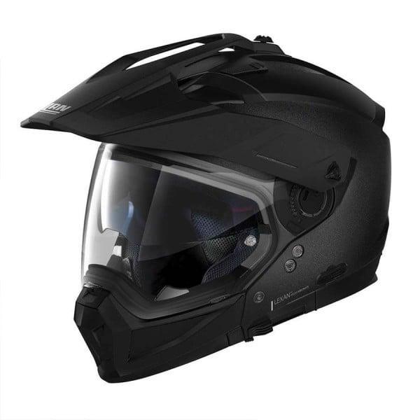 Casco Moto Enduro Nolan N70-2 X Special 9 Black Graphite, Caschi Motocross / Adventure