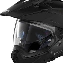 Enduro Helmet Nolan N70-2 X Special 9 Black Graphite ,Motocross / Adventure Helmets