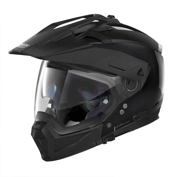 Casco Moto Enduro Nolan N70-2 X Special 12 Metal Black