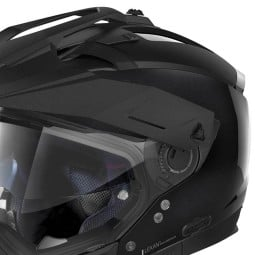 Casco Moto Enduro Nolan N70-2 X Special 12 Metal Black, Caschi Motocross / Adventure