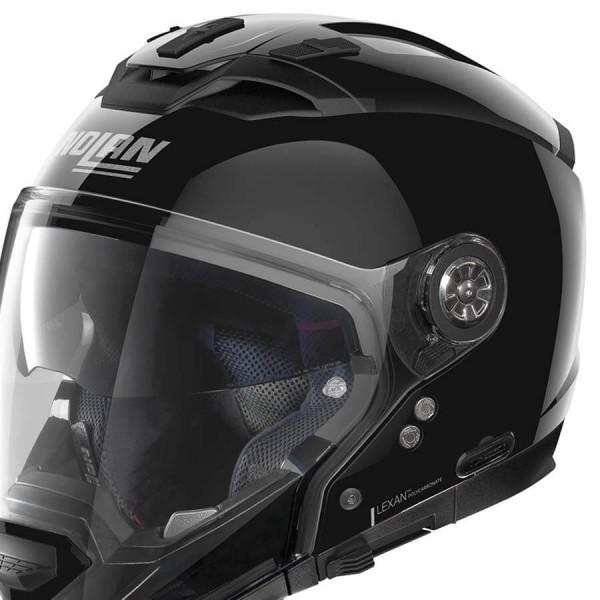 Casco Moto Modular Nolan N70-2 GT Classic 3 Glossy Black