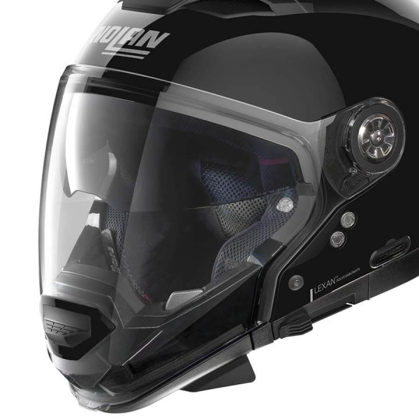 Motorcycle Helmet Modular Nolan N70-2 GT Classic 3 Glossy Black