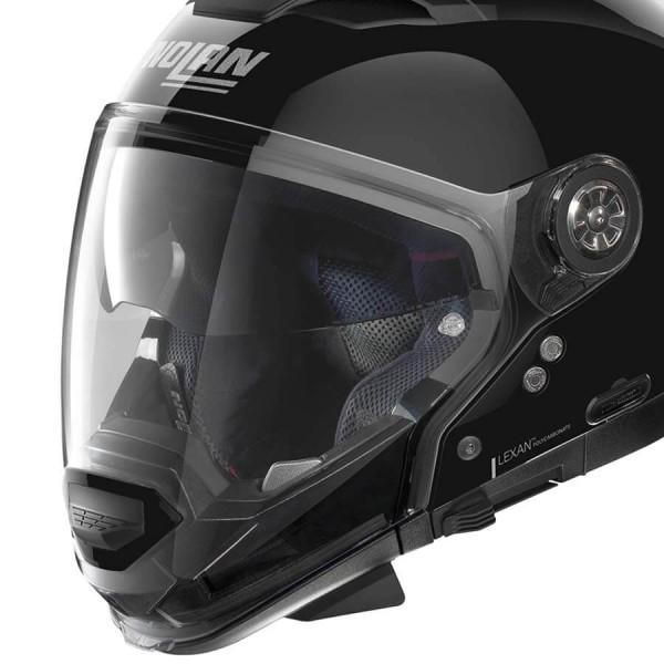 Motorrad Helm Modular Nolan N70-2 GT Classic 3 Glossy Black