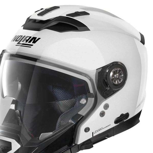 Motorcycle Helmet Modular Nolan N70-2 GT Classic 5 Metal White