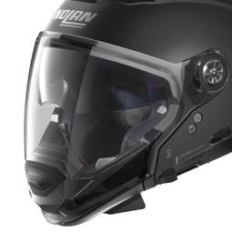 Casco Moto Modulare Nolan N70-2 GT Classic 10 Flat Black, Caschi Modulari