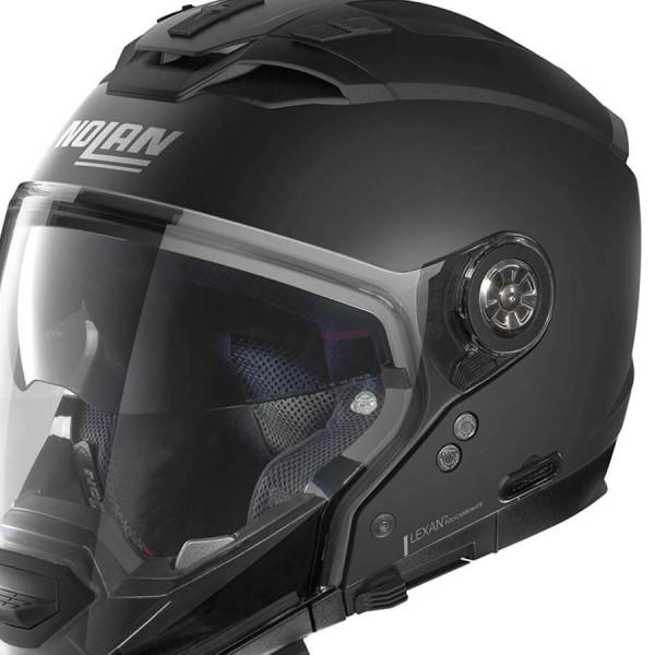 Motorcycle Helmet Modular Nolan N70-2 GT Classic 10 Flat Black