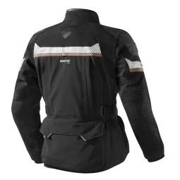 Motorrad-Stoffjacke REVIT Dominator GTX Schwarz ,Motorrad Textiljacken