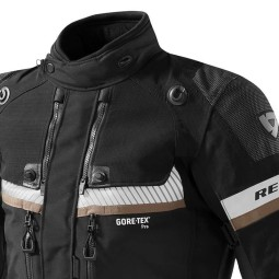 Motorcycle Fabric Jacket REVIT Dominator GTX Black ,Motorcycle Textile Jackets
