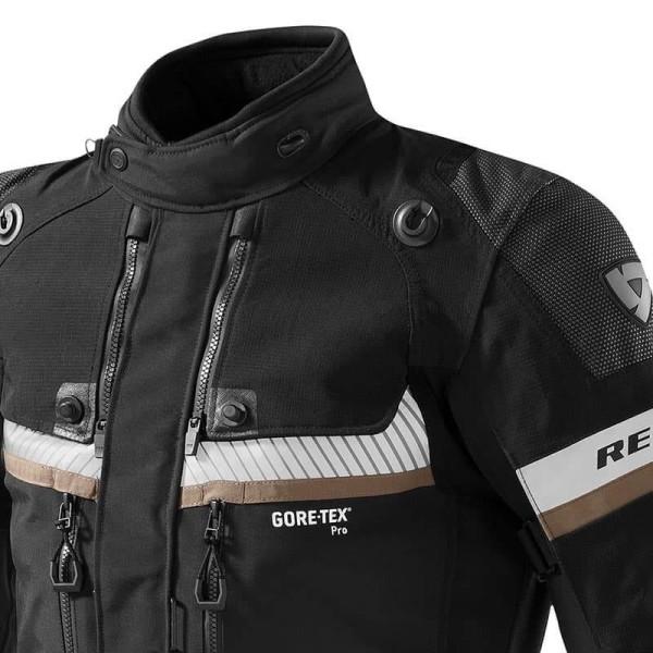 Veste Moto Revit Dominator GTX noir