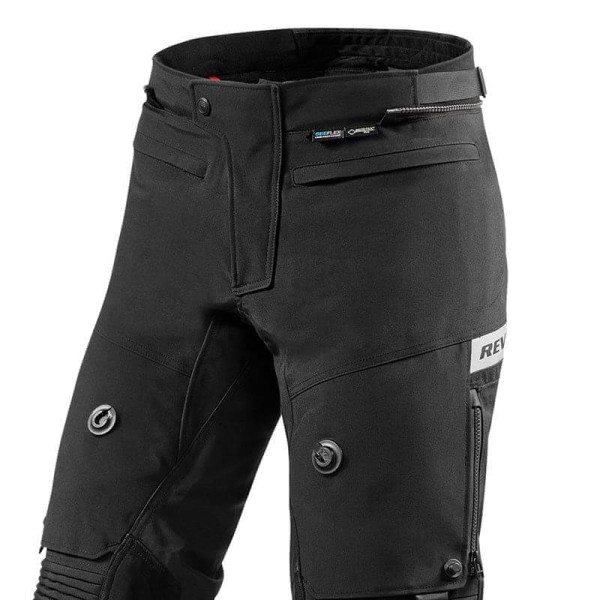 Pantalón Moto REVIT Dominator GTX Negro