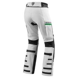 Pantalón Moto REVIT Dominator GTX Gris claro Verde