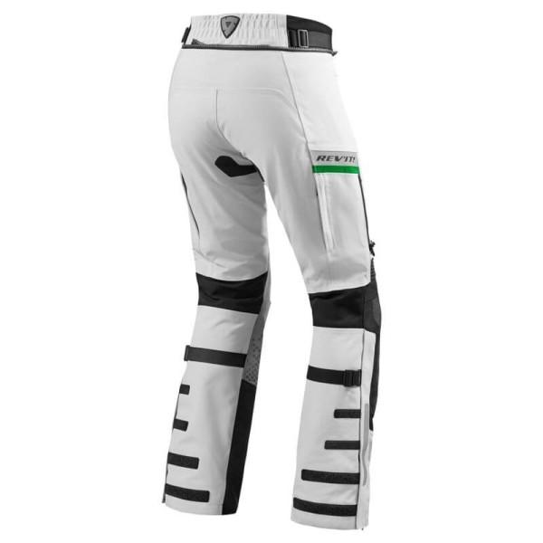 Motorcycle Pants REVIT Dominator GTX Light Grey Green