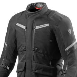 Giacca Moto Tessuto REVIT Neptune 2 GTX Nero, Giubbotti e Giacche Tessuto Moto