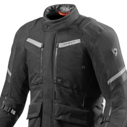 Motorcycle Fabric Jacket REVIT Neptune 2 GTX Black ,Motorcycle Textile Jackets