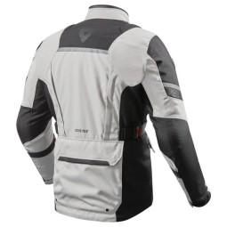 Revit Neptune 2 GTX jacke silber schwarz, Motorrad Textiljacken