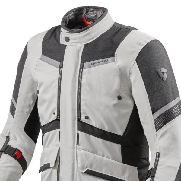 Revit Neptune 2 GTX jacke silber schwarz