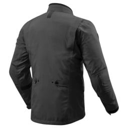 Motorcycle Fabric Jacket REVIT Trench GTX Black ,Motorcycle Textile Jackets