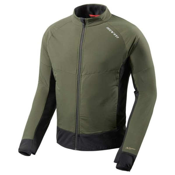 Thermal Motorcycle Jacket REVIT Climate 2 Green-Black