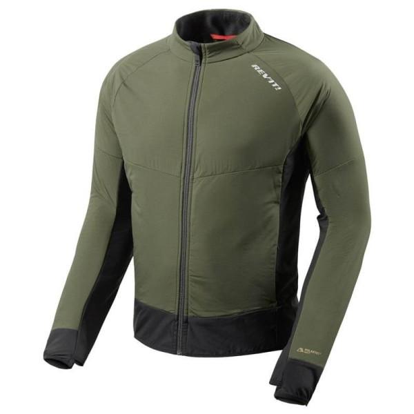 Veste Moto Thermique REVIT Climate 2 Vert-Noir