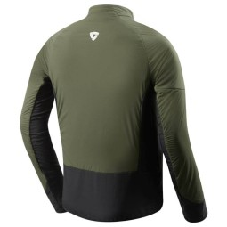 Thermal Motorcycle Jacket REVIT Climate 2 Green-Black ,Functional Motorcycle Gear