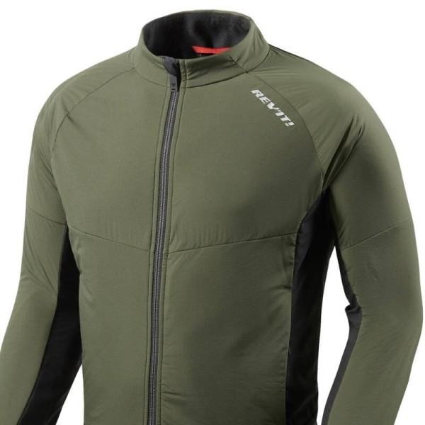 Chaqueta Térmica Moto REVIT Climate 2 Verde oscuro-Negro