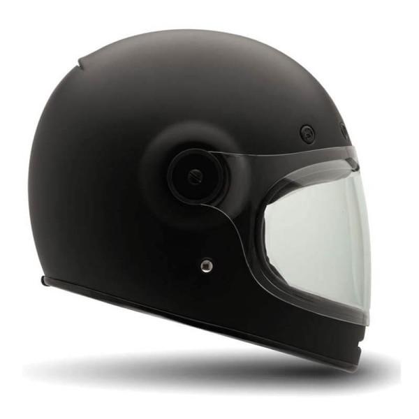 Motorcycle Helmet Vintage BELL HELMETS Bullitt Matte Black